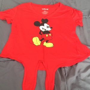 Short sleeve Mickey Mouse shirt
